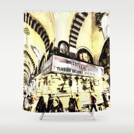 Spice Bazaar Istanbul Art Shower Curtain