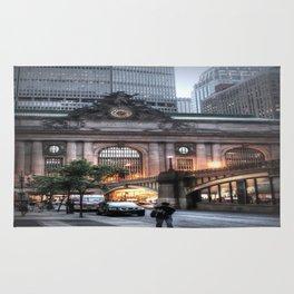 Outside Grand Central Station Rug