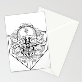 Courage Is What You Need Stationery Cards
