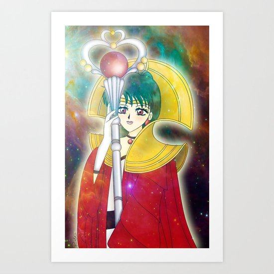 Time Lady Setsuna Art Print