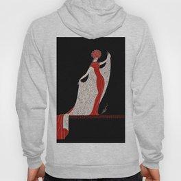 "Art Deco Fashion Design ""Alphabet Cloak"" Hoody"
