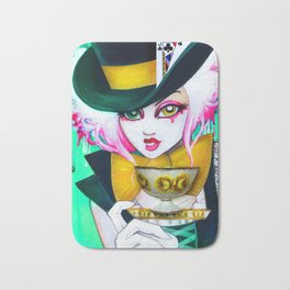 The Mad Hattress Bath Mat