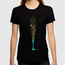 V Shaped Champagne Glasses T-shirt