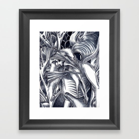 Only in Our Nightmares Framed Art Print