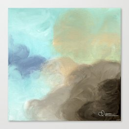 Abstract cloud Canvas Print