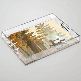 Mystic Hunt Acrylic Tray