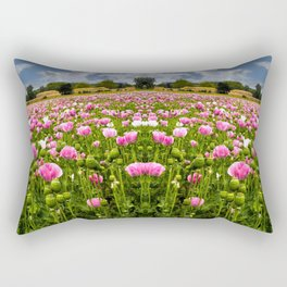 Poppy fields in Holland Rectangular Pillow