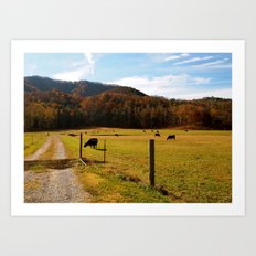 Tennessee Farm Art Print