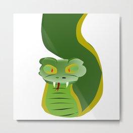 Serpent Metal Print