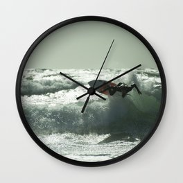 Surf Atlantica  Wall Clock