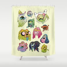 After the Great Mushroom War Shower Curtain