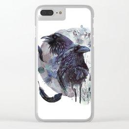 Full Moon Fever Dreams Of Velvet Ravens Clear iPhone Case