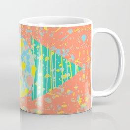 Abstract Heat Coffee Mug
