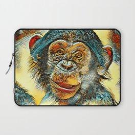 AnimalArt_Chimpanzee_20170602_by_JAMColorsSpecial Laptop Sleeve