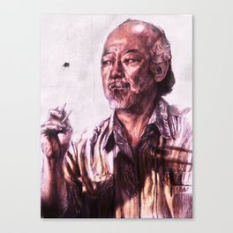 Mr. Miyagi from Karate Kid Canvas Print