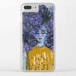 California Lilac Clear iPhone Case