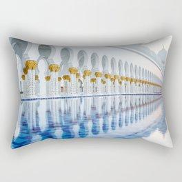 Abu Dhabi Sunset Rectangular Pillow