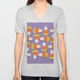 Candy Corn Unisex V-Neck