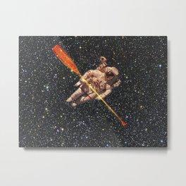 space oarsman Metal Print