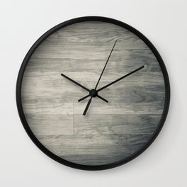 noir wood Wall Clock