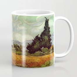 Vincent van Gogh's Wheat Field with Cypresses Coffee Mug