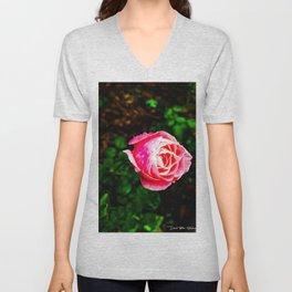Desert Rose Unisex V-Neck