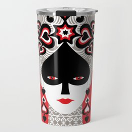The Queen of spades Travel Mug