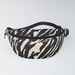 Tiger Rose & Yellow Watercolor Gradient Fanny Pack
