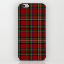The Royal Stewart Tartan iPhone Skin