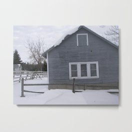winter. Metal Print