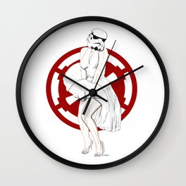 """""""Give a girl the right shoes, and she can conquer the world.""""  Wall Clock"""