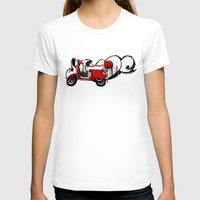 vespa T-shirts featuring Vespa by absoluca