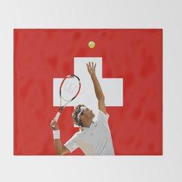 Roger Federer | Tennis Throw Blanket