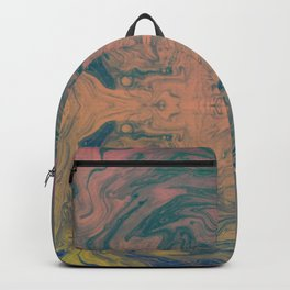 Pink Neon Marble - Earth Gum #nature #planet #marble Backpack