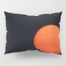 Red Sun Pillow Sham