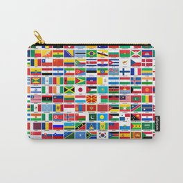 Flags Of The World Carry-All Pouch