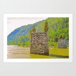 Shenandoah Confluence Art Print