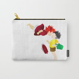Ponyo and Sosuke white background Carry-All Pouch