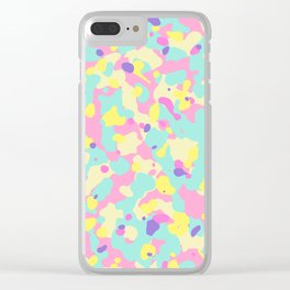 Let's go neon! (fluor) Clear iPhone Case