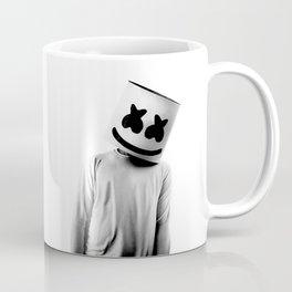 MARSHMELLO Black Coffee Mug