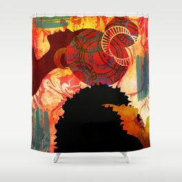 JUST THINKING Shower Curtain