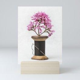 Wooden Vase Mini Art Print
