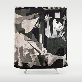 GUERNICA #2 - PABLO PICASSO Shower Curtain