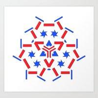 patriotic Art Prints featuring Patriotic by Tami Cudahy