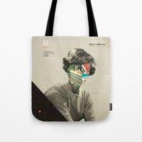 Tote Bags featuring Since I Left You by Frank Moth