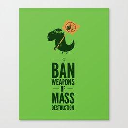 Occupy Jurassic Park Canvas Print