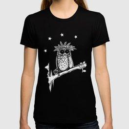 Metal Owl T-shirt