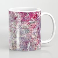 oslo Mugs featuring Oslo Map by MapMapMaps.Watercolors