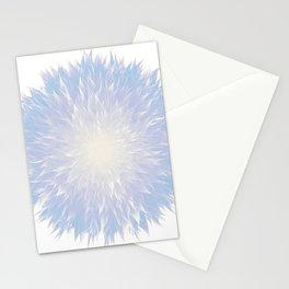 Mandala Flower    Blue Stationery Cards