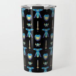 Erdrick's Equipment - Black Travel Mug